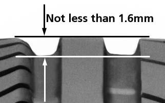 1.6mm minimum